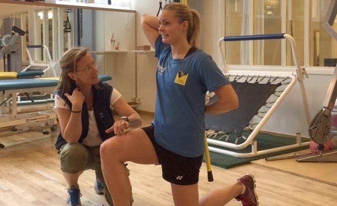 Ta hjälp av fysioterapeuten – förebygg skador och ta hand om smärtan