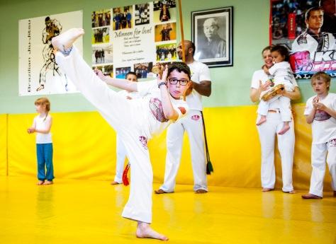 Capoeira, träning, Malmö